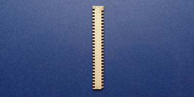 LCC 72-00 O gauge 2 brick wide station wall extension